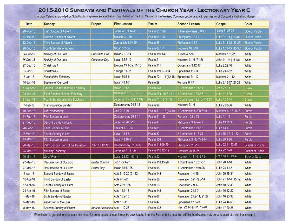 Free United Methodist Liturgical Calendar :-Free Calendar  Methodist Church Lectionary