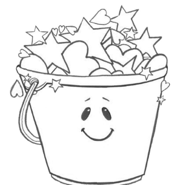 Grade Onederful: Coloring Page | Bucket Filling | Bucket  Colour Filling Page For Grade R