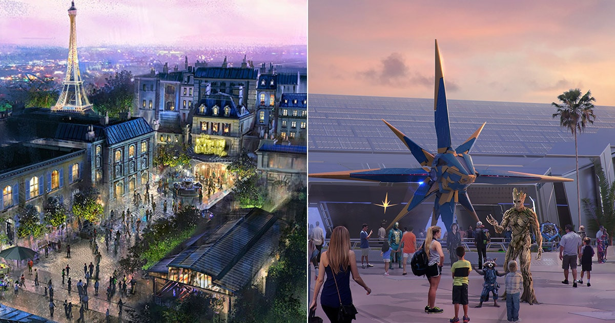 Guardians Of The Galaxy And Ratatouille Attractions Are  List Of Disney World Rides 2021