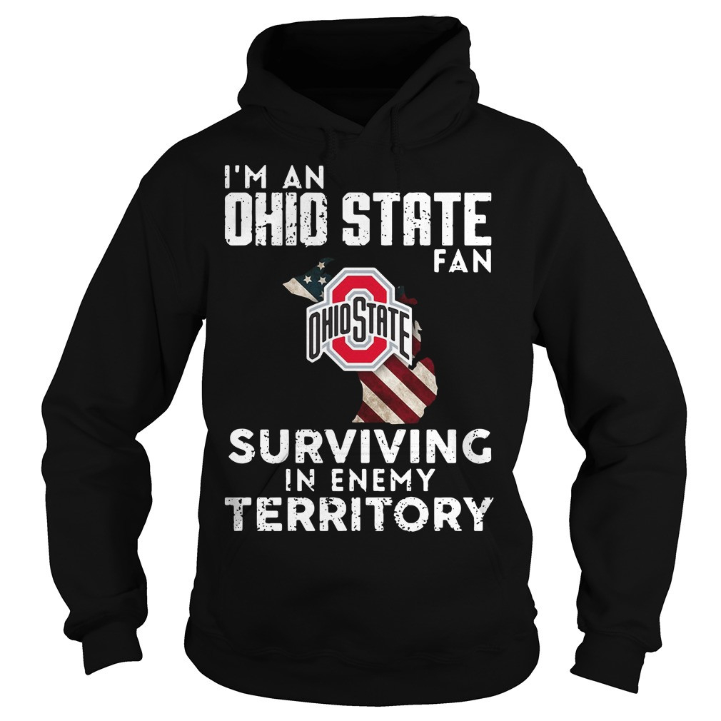 I'M An Ohio State Fan Surviving In Enemy Territory Shirt  Osu Protocol Depo Provera Administration