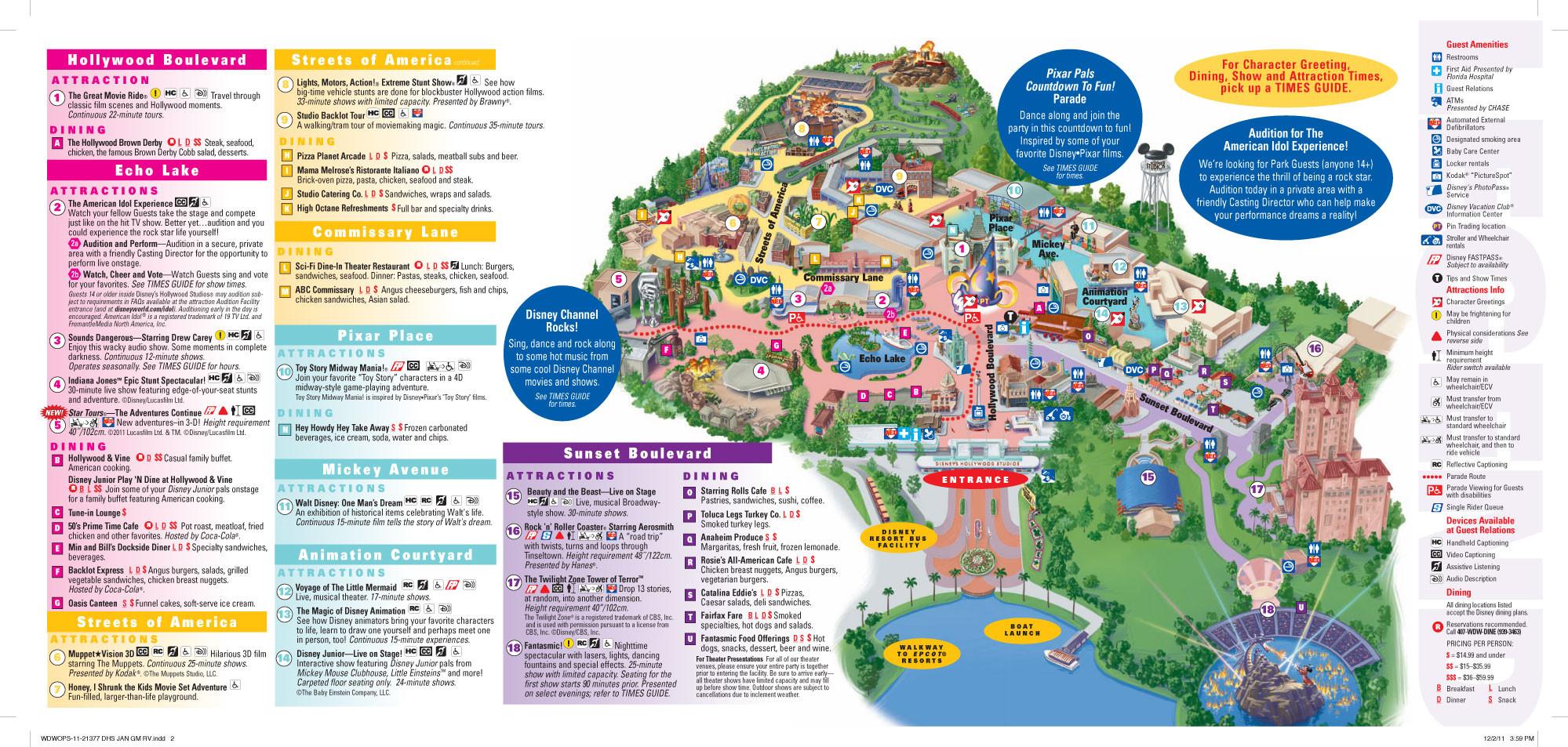 Le Problème Du Parc Wds Vient Il Vraiment Du Manque D  List Of Current Disney World Attractions