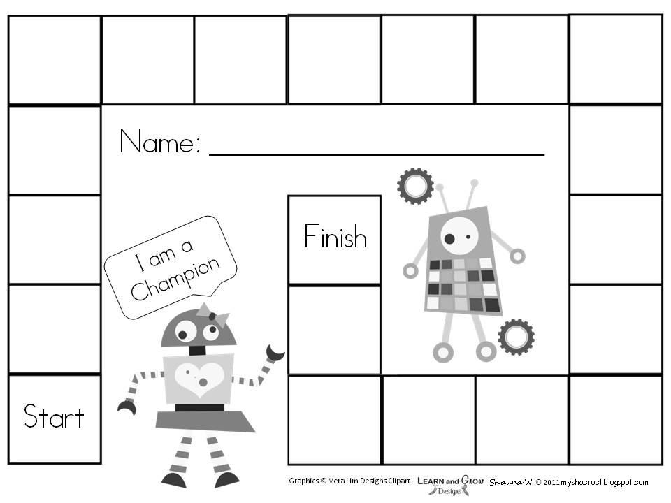 Learn And Grow Designs Website: Blank Gameboards/Reward  Blank Reward Charts