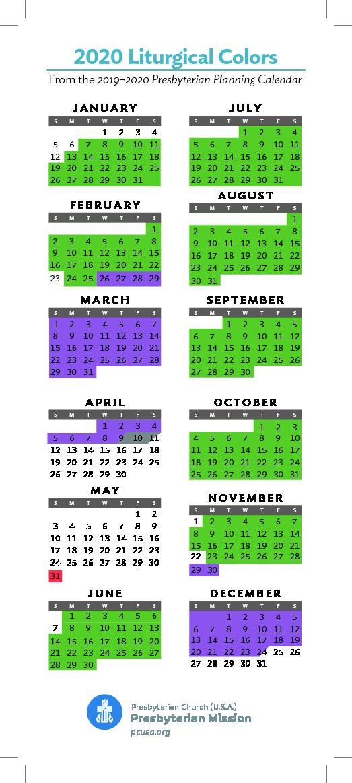 Liturgical Colors 2019 | Colorpaints.co  Litrugical Calendar 2021 Methodist