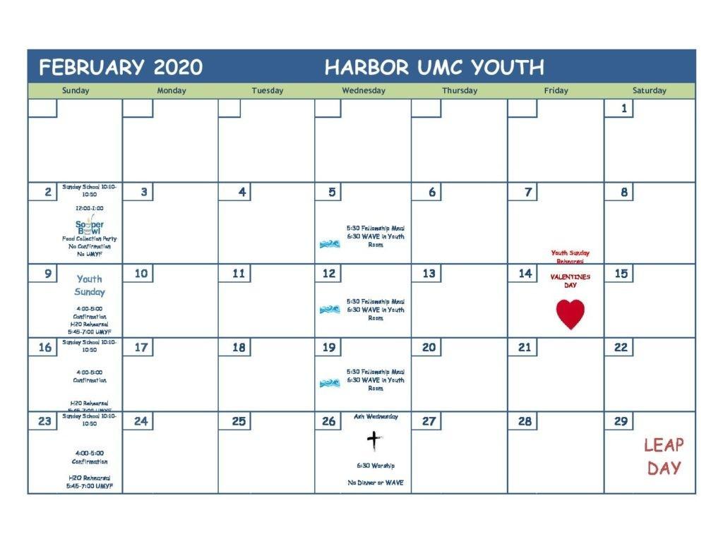 Methodist Calendar 2020 - Template Calendar Design  United Methodist Yearly Calendar