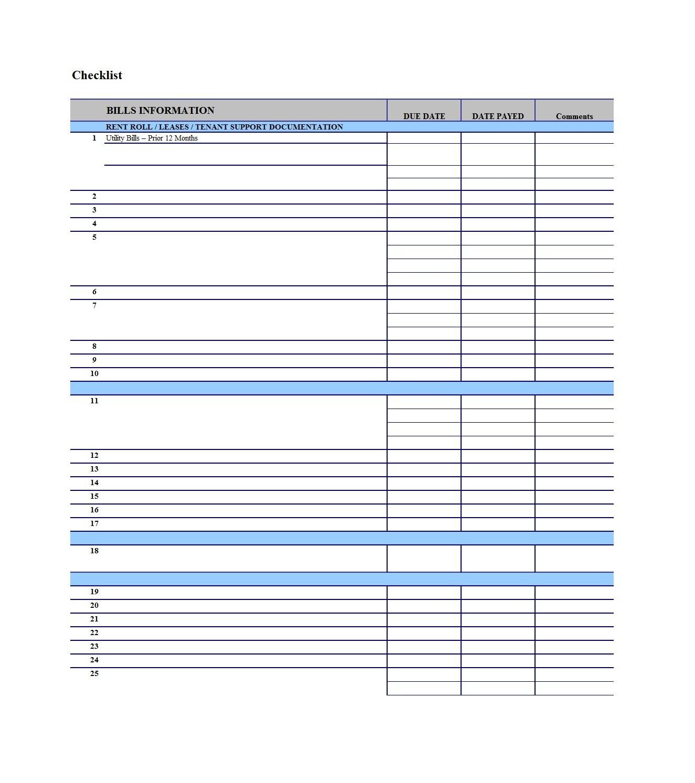 Monthly Bill Schedule Template | Calendar Template Printable  Pay Bills Calendar