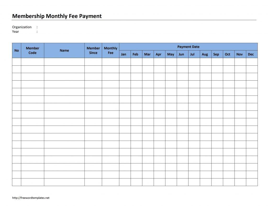 Monthly Payment Spreadsheet - Koran.sticken.co   Free  Bill Payment Worksheet