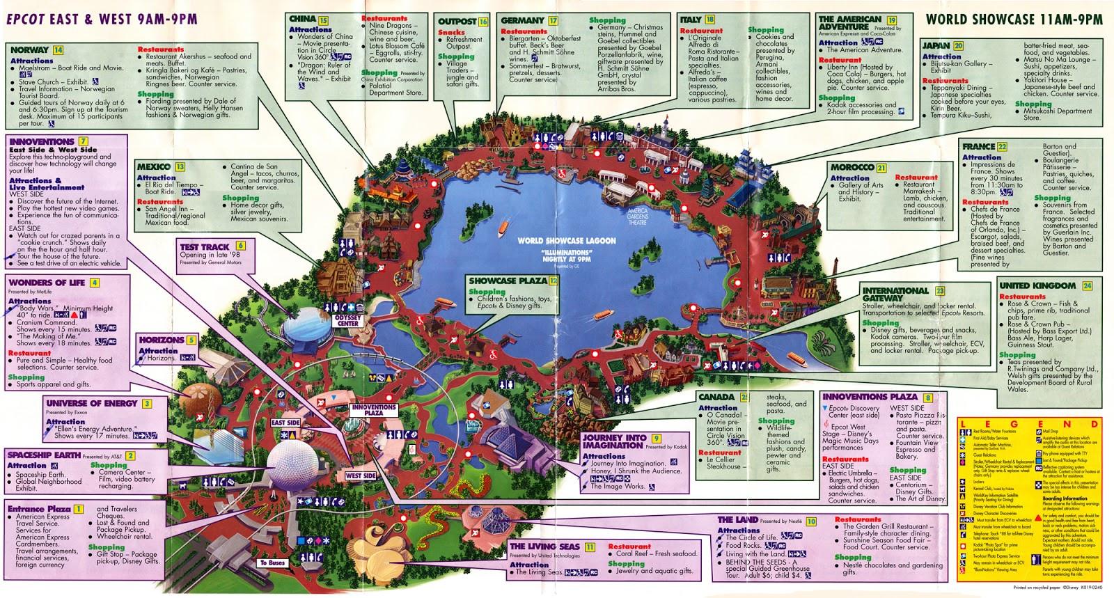 My Disney Trip - Going Solo!  Disney World Attractions List Pdf