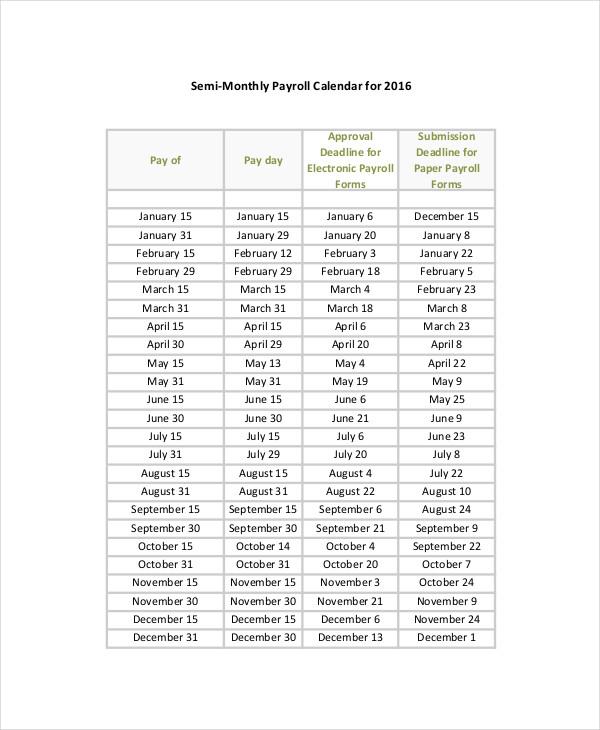 Pay Day Calendar Template | Calendar Template 2021  Depo Due Date Chart