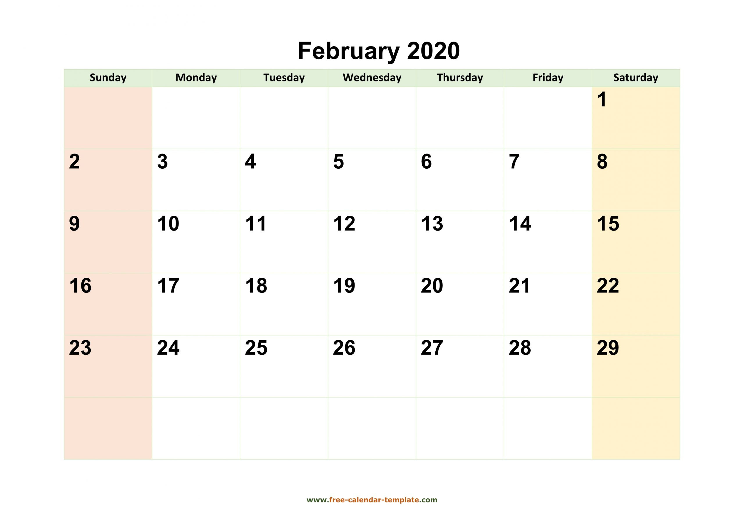Pick Print Free 2020 Monthly Calendars Without Downloading  November 2021 Fill In Calendar