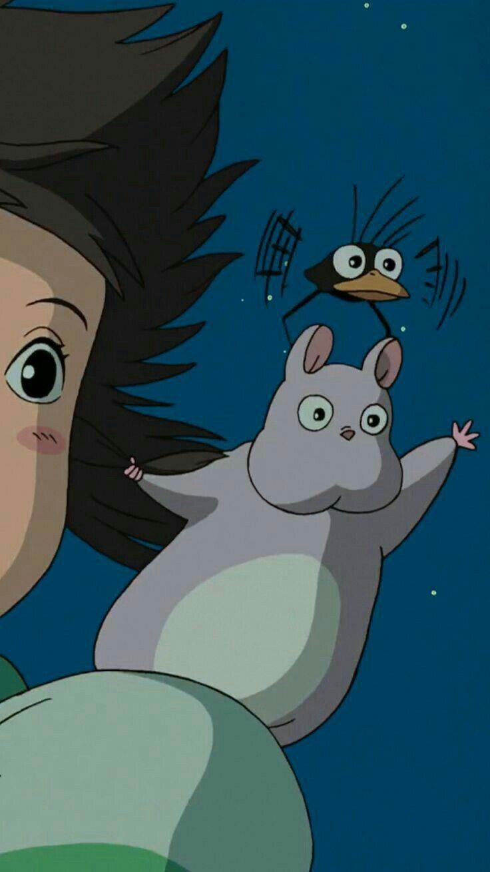 Pin•.*Alina*.• On 丂ㄒㄩᗪ ㄖ ᘜ卄 乃ㄥ    Studio Ghibli  Дисней Замок Арт