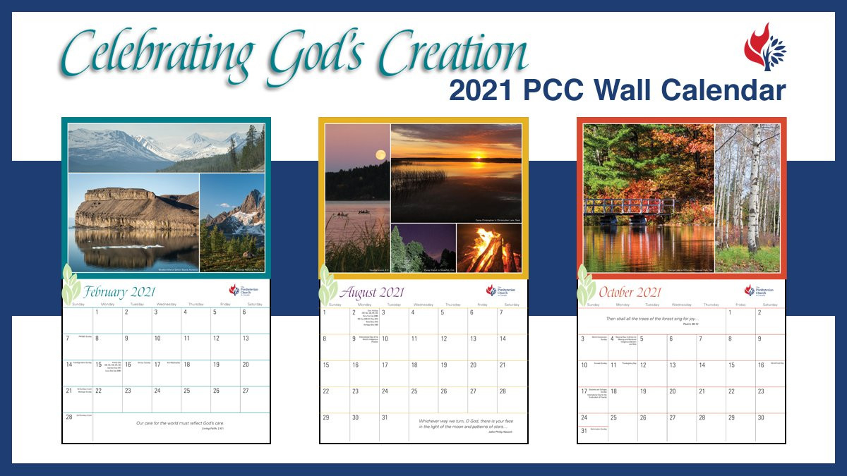 Presbyterian Lectionary Calendar 2021  Revised Common Lectionary 2021