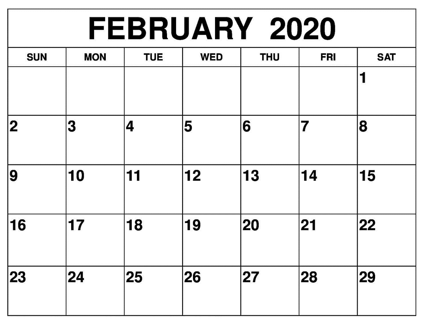 Print Free Calendars Without Downloading/2020 | Calendar  Free Printable Calendar Without Download