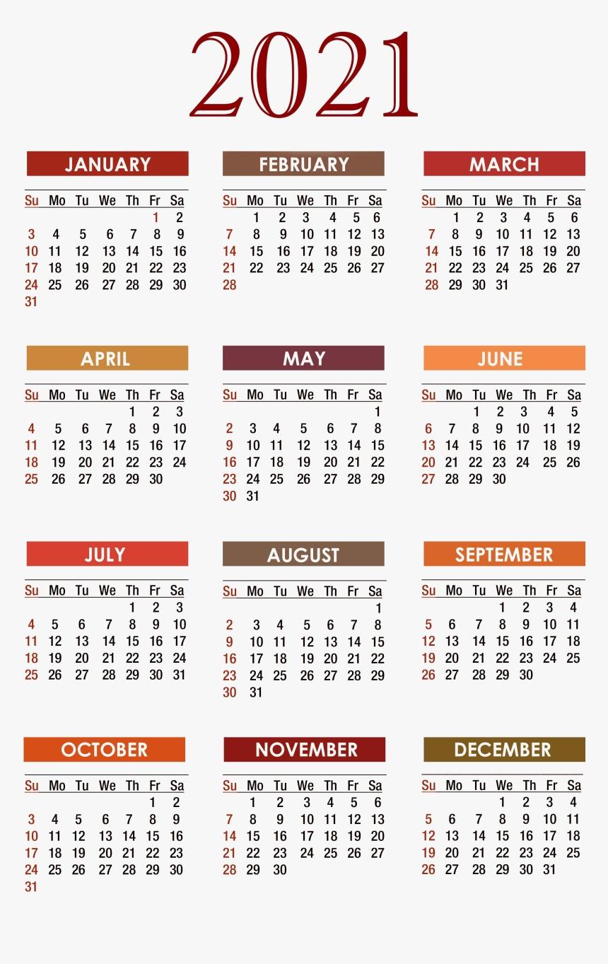 Print Pocket 2021 Calendar Free - Template Calendar Design  2021 12 Month Calendar Printable Free Pdf