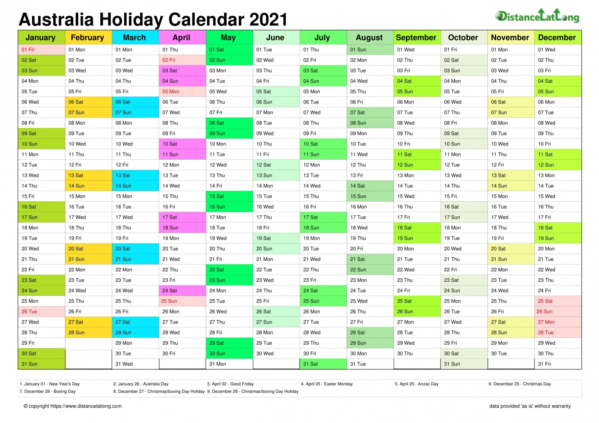 Printable 2021 Calendar Australia | Free Letter Templates  2021 2021 Financial Year Calendar Australia