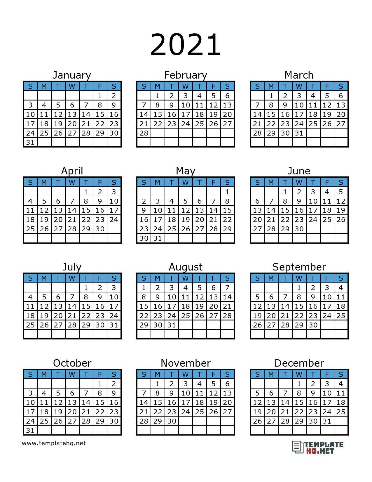 Printable 2021 F-1 Schedule - Example Calendar Printable  Easy To Print 2021 Calendar