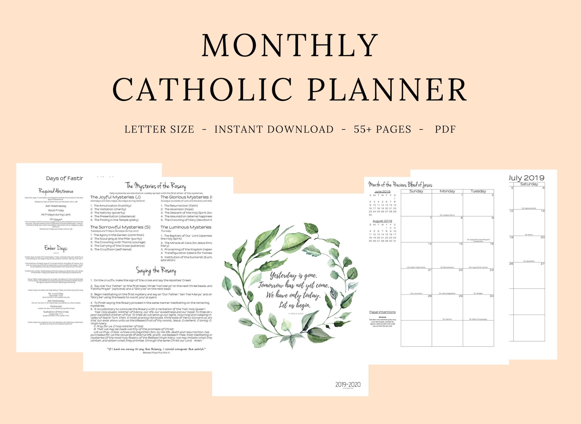 Printable Catholic Liturgical Calendar 2020 - Calendar  Printabel Lectionary Clalendar For 2021 Umc