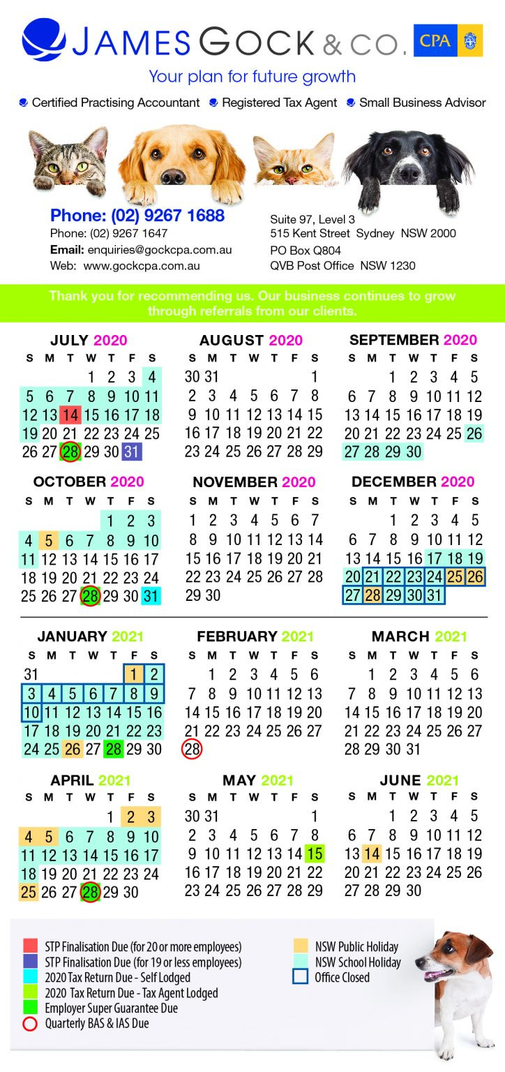 Remember Key Dates With Our 2020/2021 Financial Year  Financial Year Dates 2021 2021