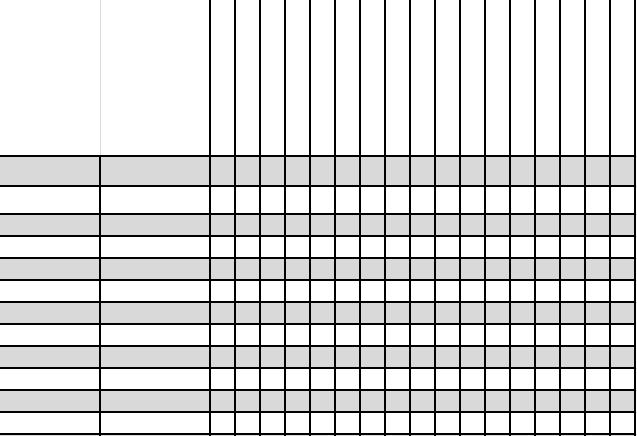 Simple Gradebook Template  Blank  Assignment Sheet