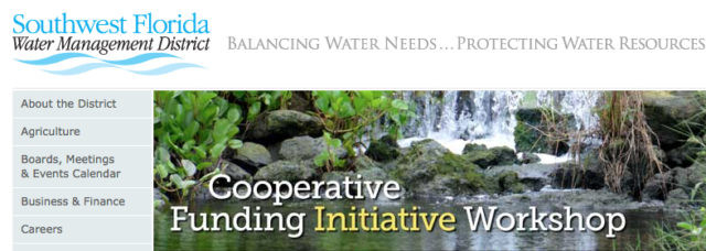 Southwest Florida Water Management District Adopts Lower  2021-19 Financial Year Dates