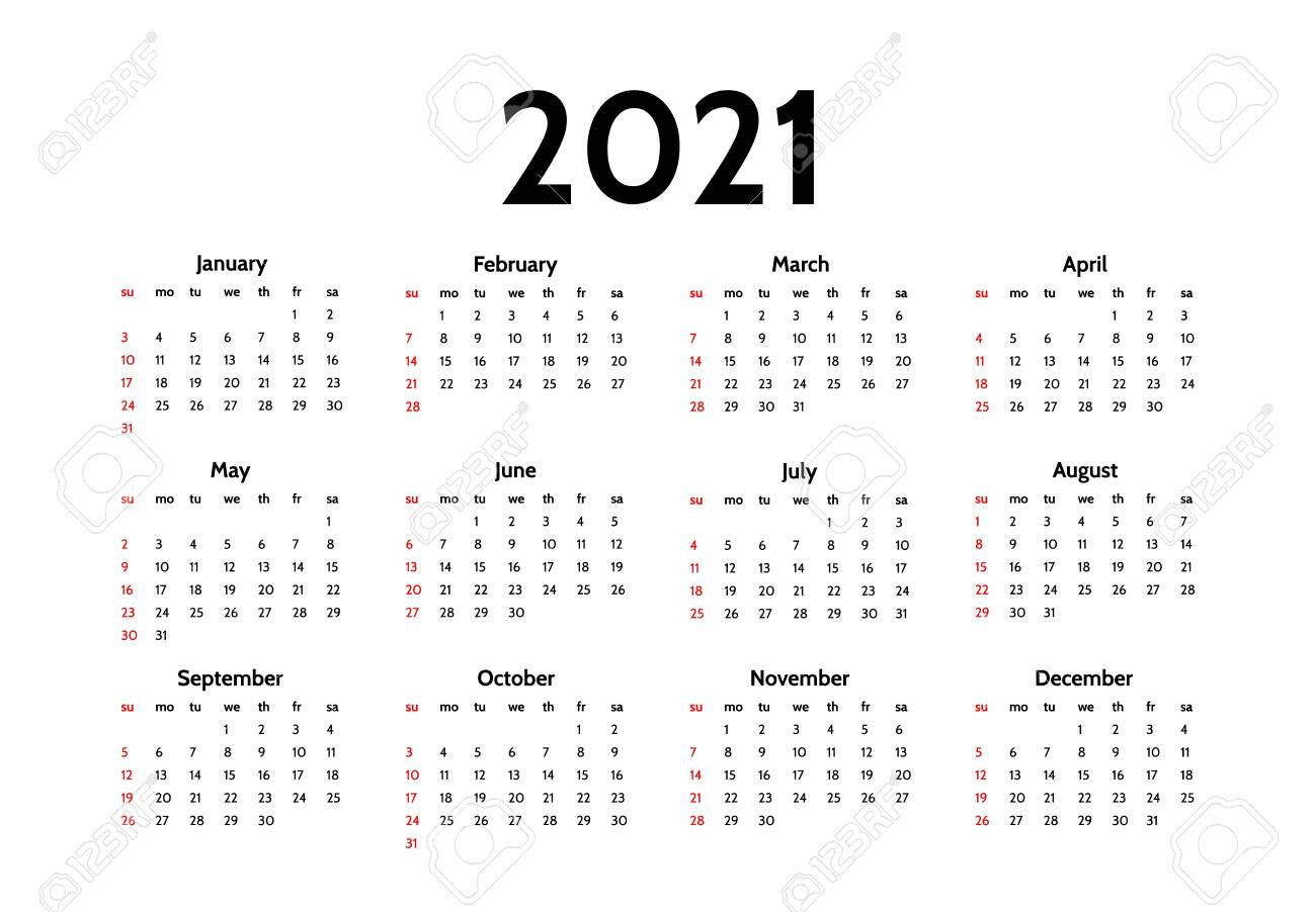 Sunday Calendar 2021 | Calendar Printables Free Blank  Monday Through Sunday Calendar 2021