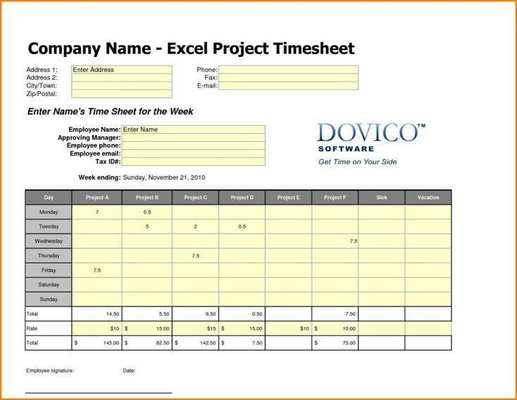 Timesheet Spreadsheet Template Di 2020 (Dengan Gambar)  Depot Injection Calendar
