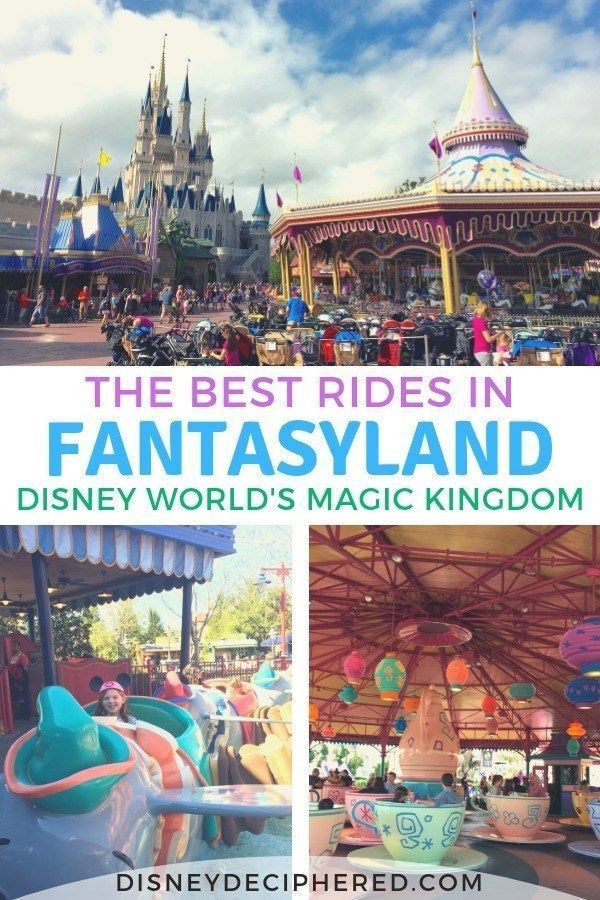 Tips & Tricks For Fantasyland Attractions At Disney'S  List Of Current Disney World Attractions