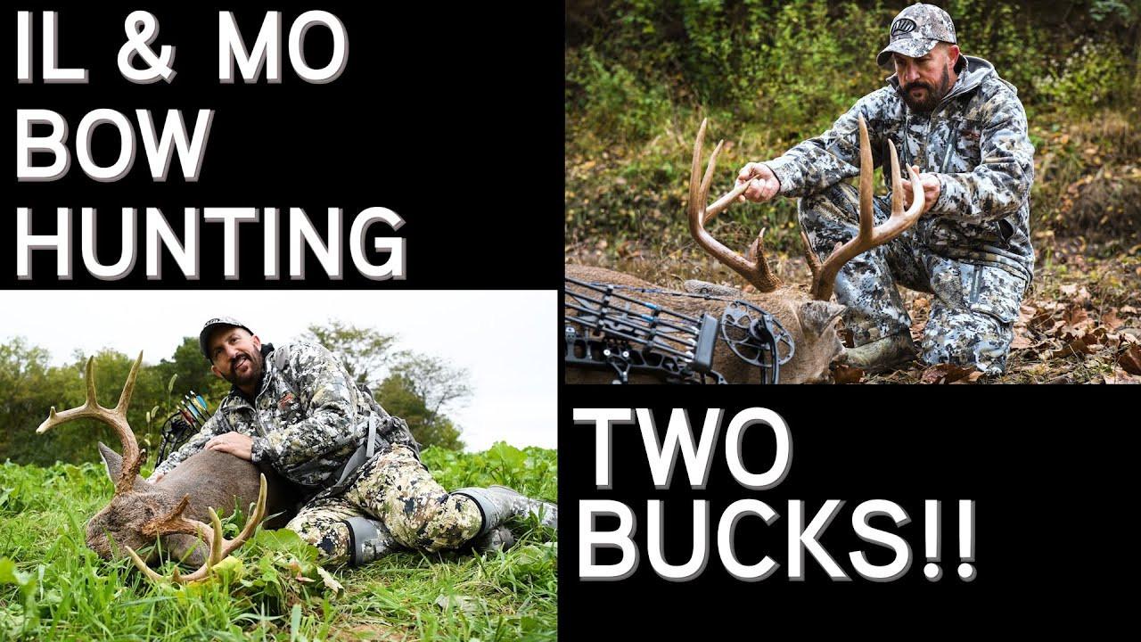 Two Bow Kills | Early Season And Pre Rut Hunting In  Missouri Rut Map
