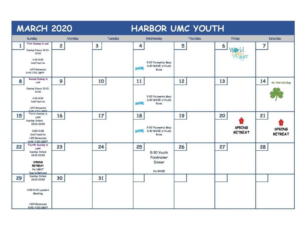 United Methodist Calendar 2020 - Template Calendar Design  2021 Church Calendar For Umc