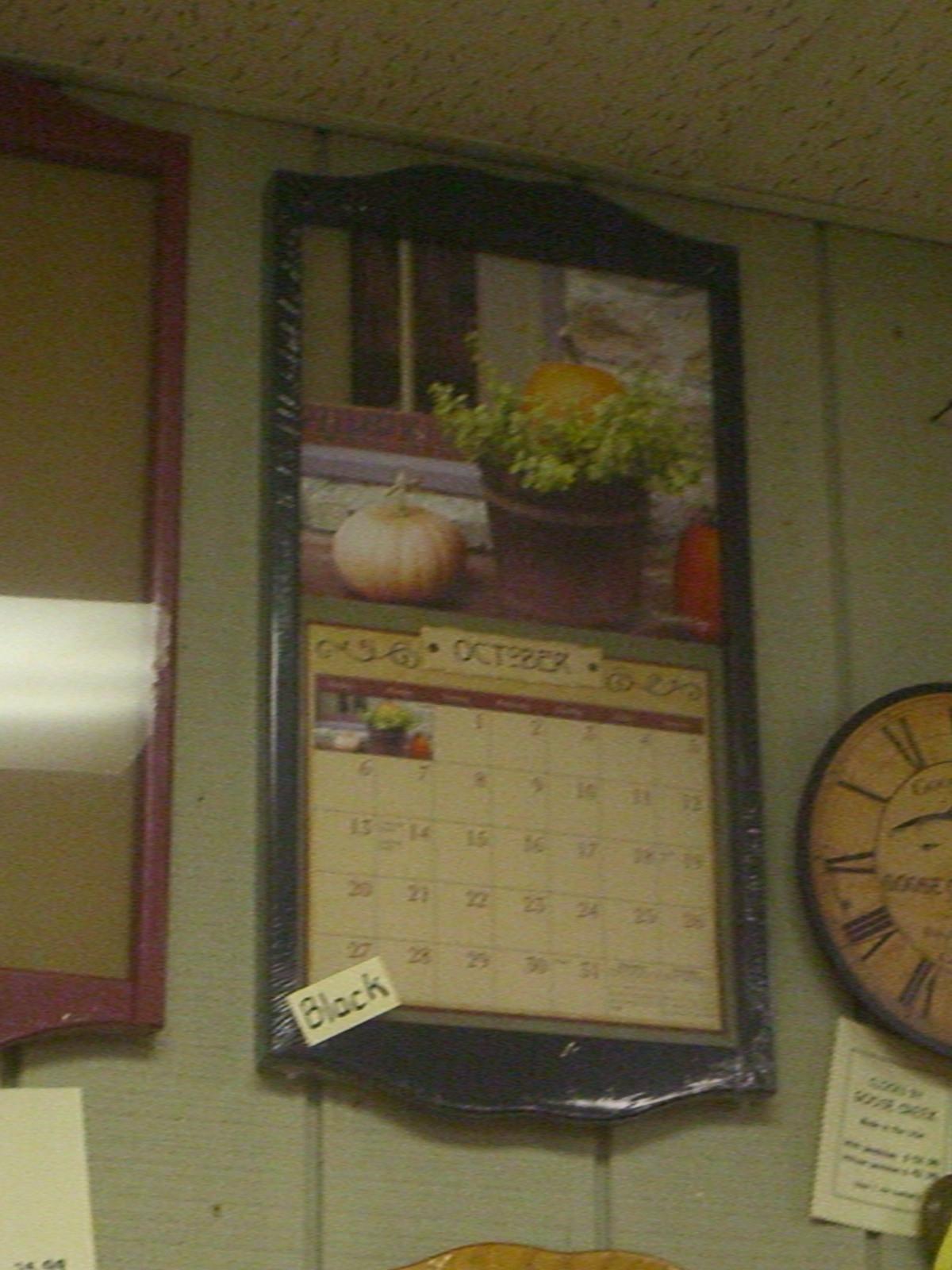 Wall Calendar Frames And Holders - Calendar Inspiration Design  Calendar Frames And Holders
