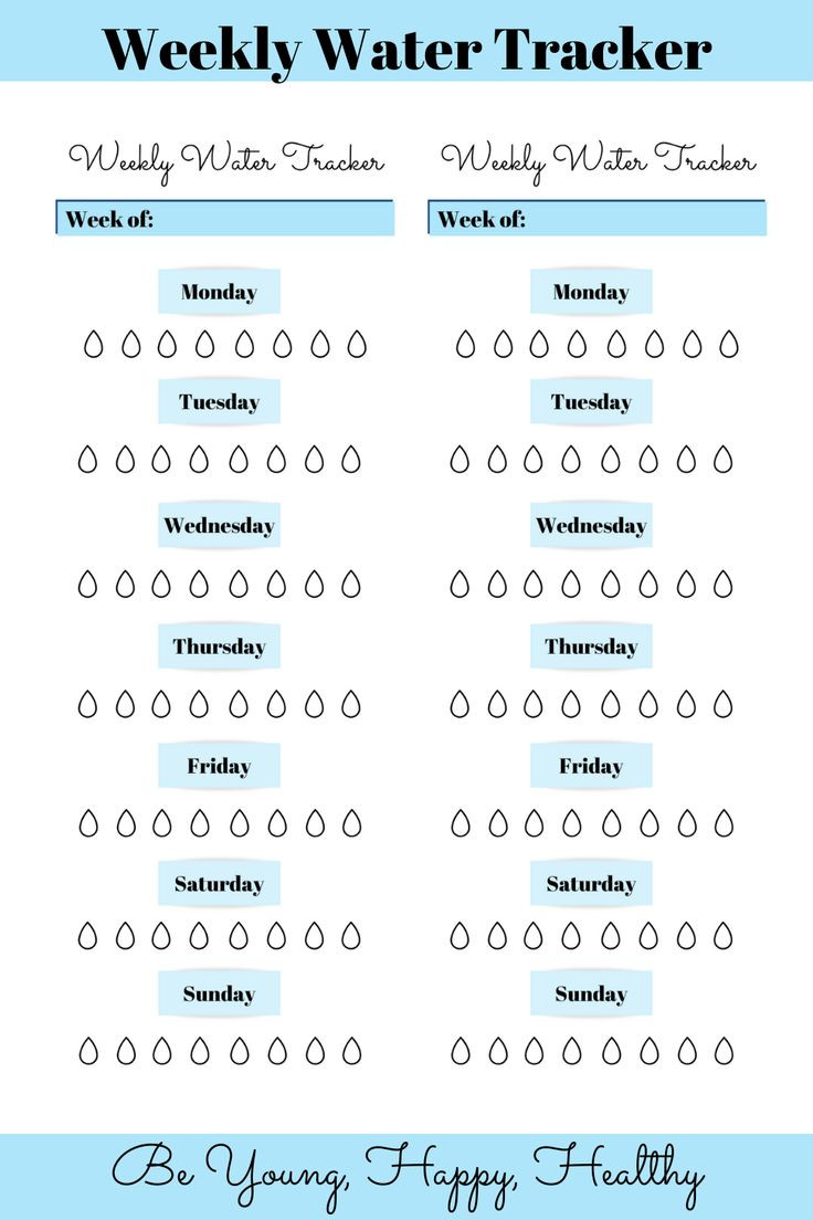 Water Tracker Hydration Tracker Printable Water Tracker  30 Day Water Challenge Pdf
