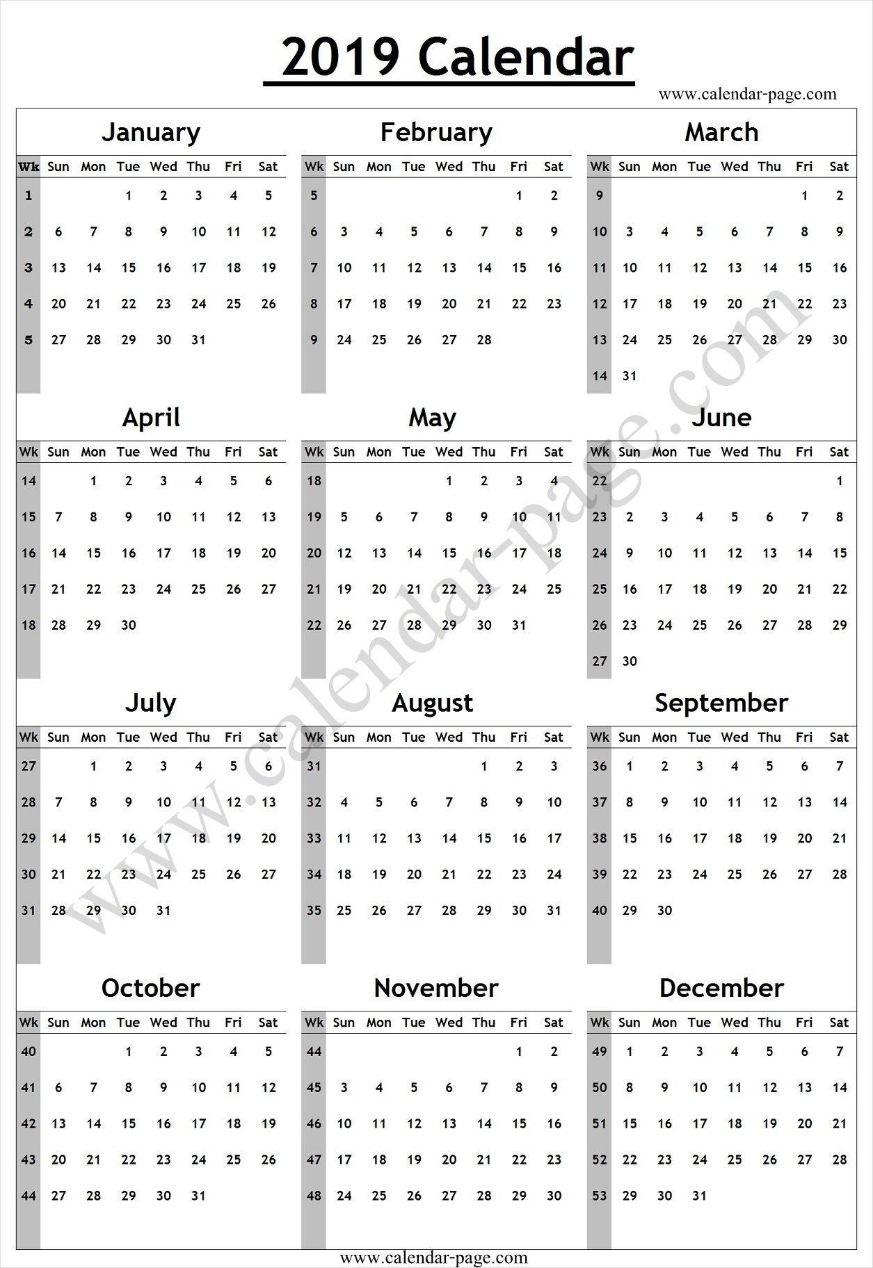 Calendar Week Number Today | Ten Free Printable Calendar  Calendar By Week Number Pdf