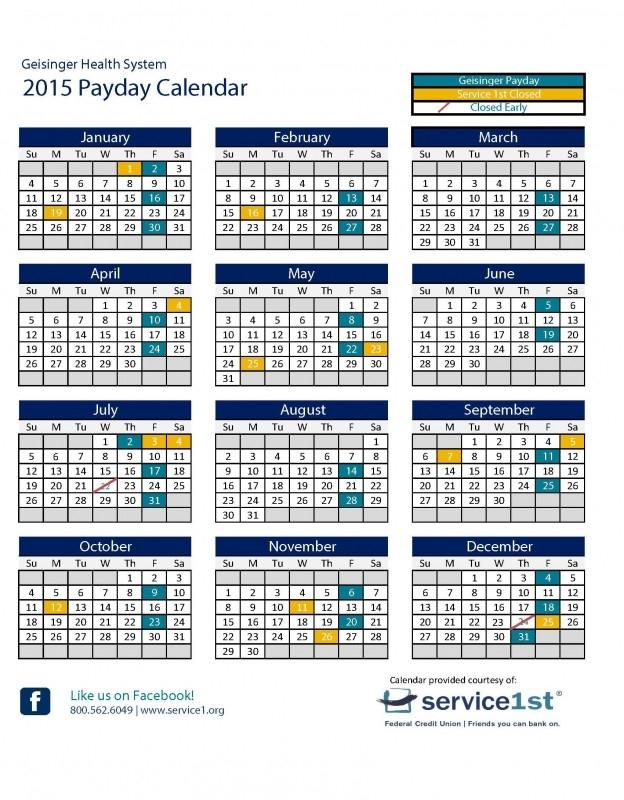 Calendar With Federal Paydays :-Free Calendar Template  Federal Government Pay Period Calendar