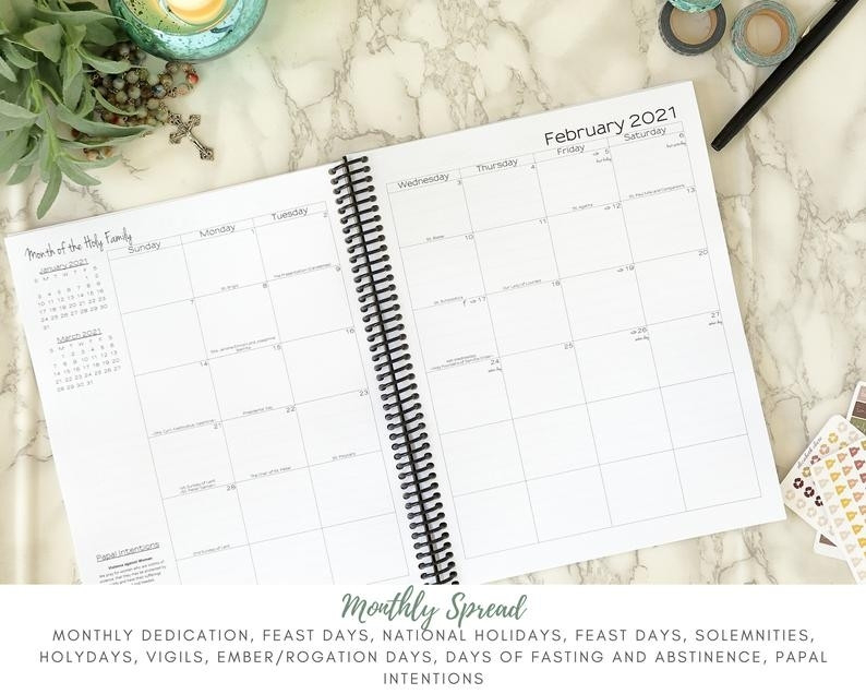 Catholic 2021 Liturgical Calendar | Ten Free Printable  Episcopal Liturgical 2021 Calendar Printable