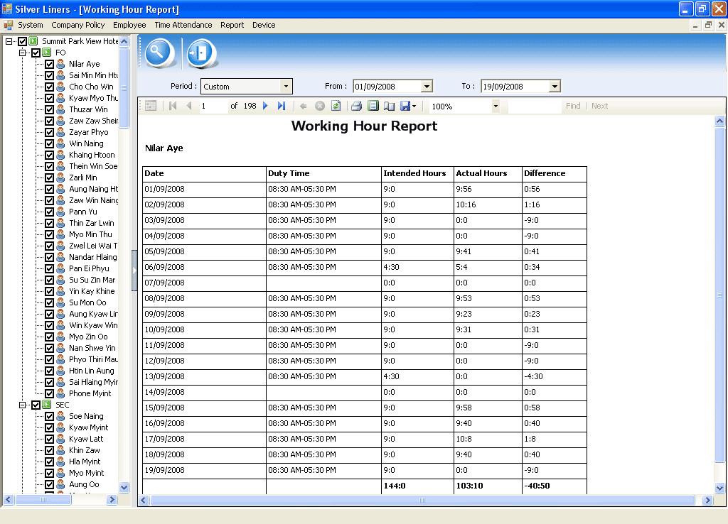 Daily Attendance Sheet | Template Business  Attendance Log