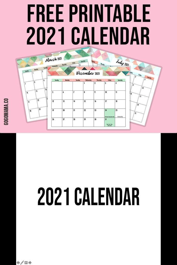Free 2021 Editable Calendar [Video]   Printable Calendar  Free Editable Calendar Templates Printable