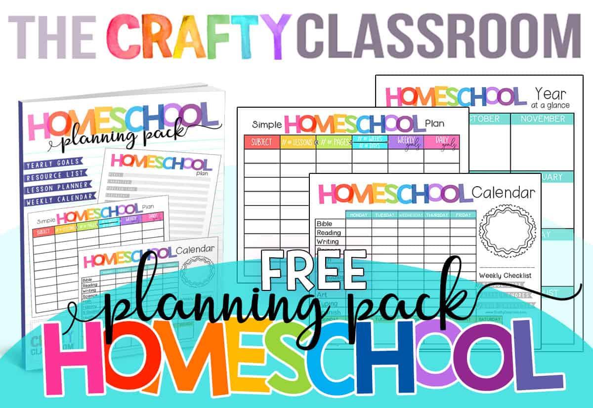 Free Homeschool Planner  Free Printable Homeschool Daily Schedule