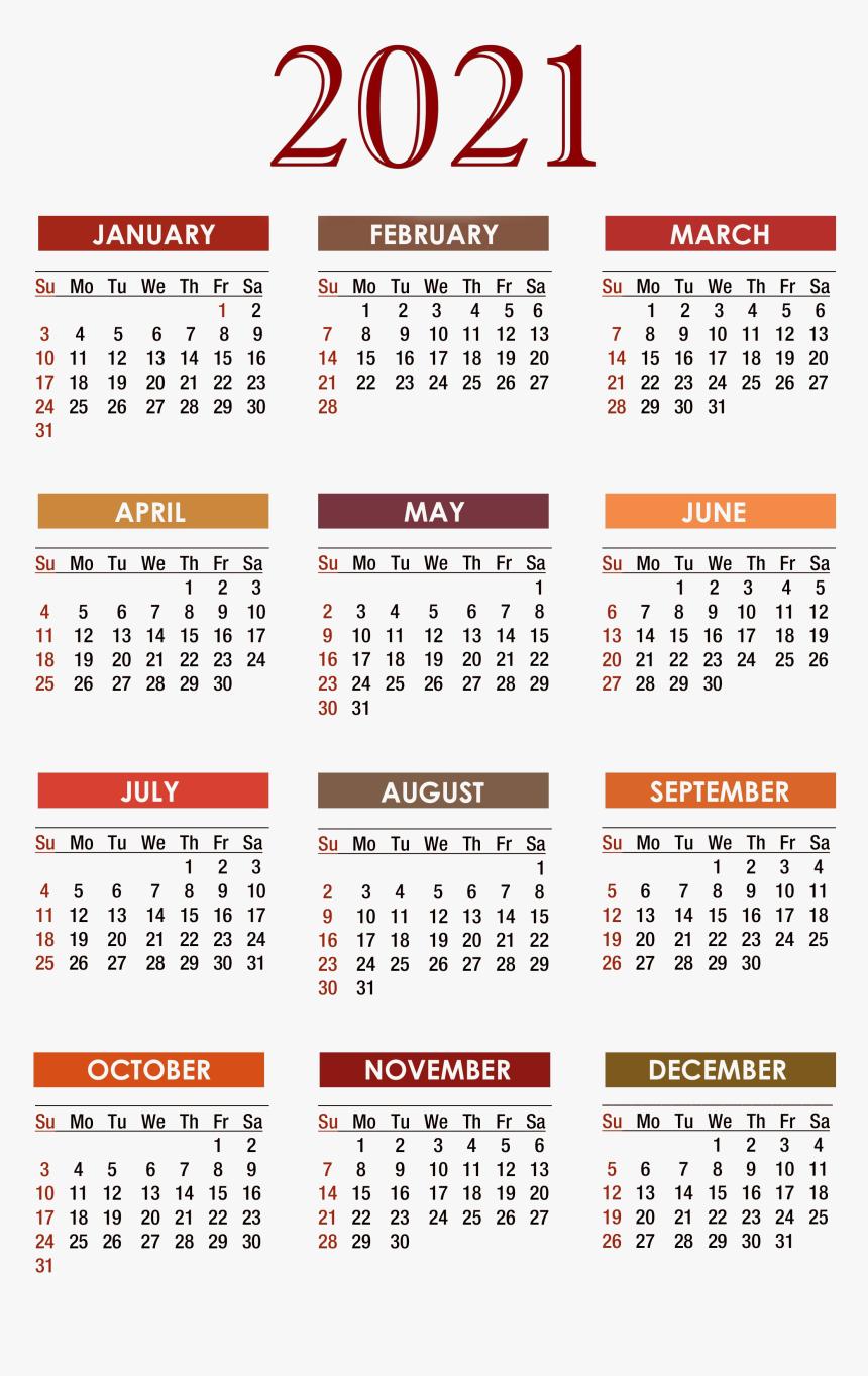 Free Printable Pocket Calendar 2021 | Calendar Printables  Printable Pocket Calendar 2021