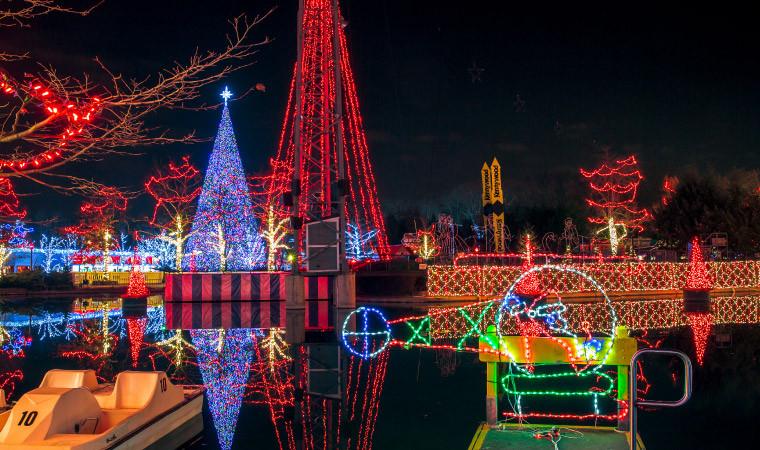 Holiday Lights   Kennywood  Ne3Xt Louis Iana Tax Free Weekend