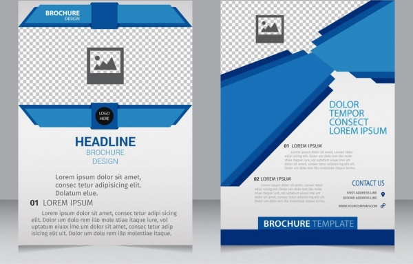 Modern Brochure Template Free Vector Download (17,249 Free  Front Page Of Water Challenge Template Free