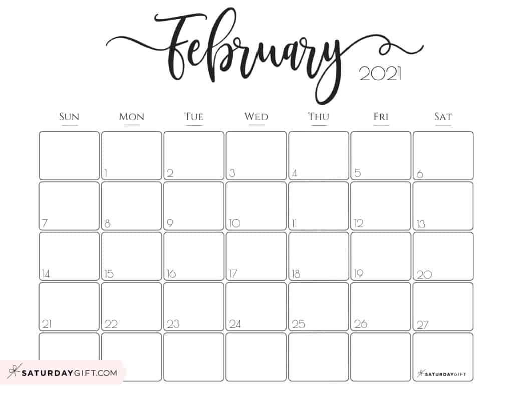 Printable Calendar 2021  Julian Calendar 2021 2021 Free Printable