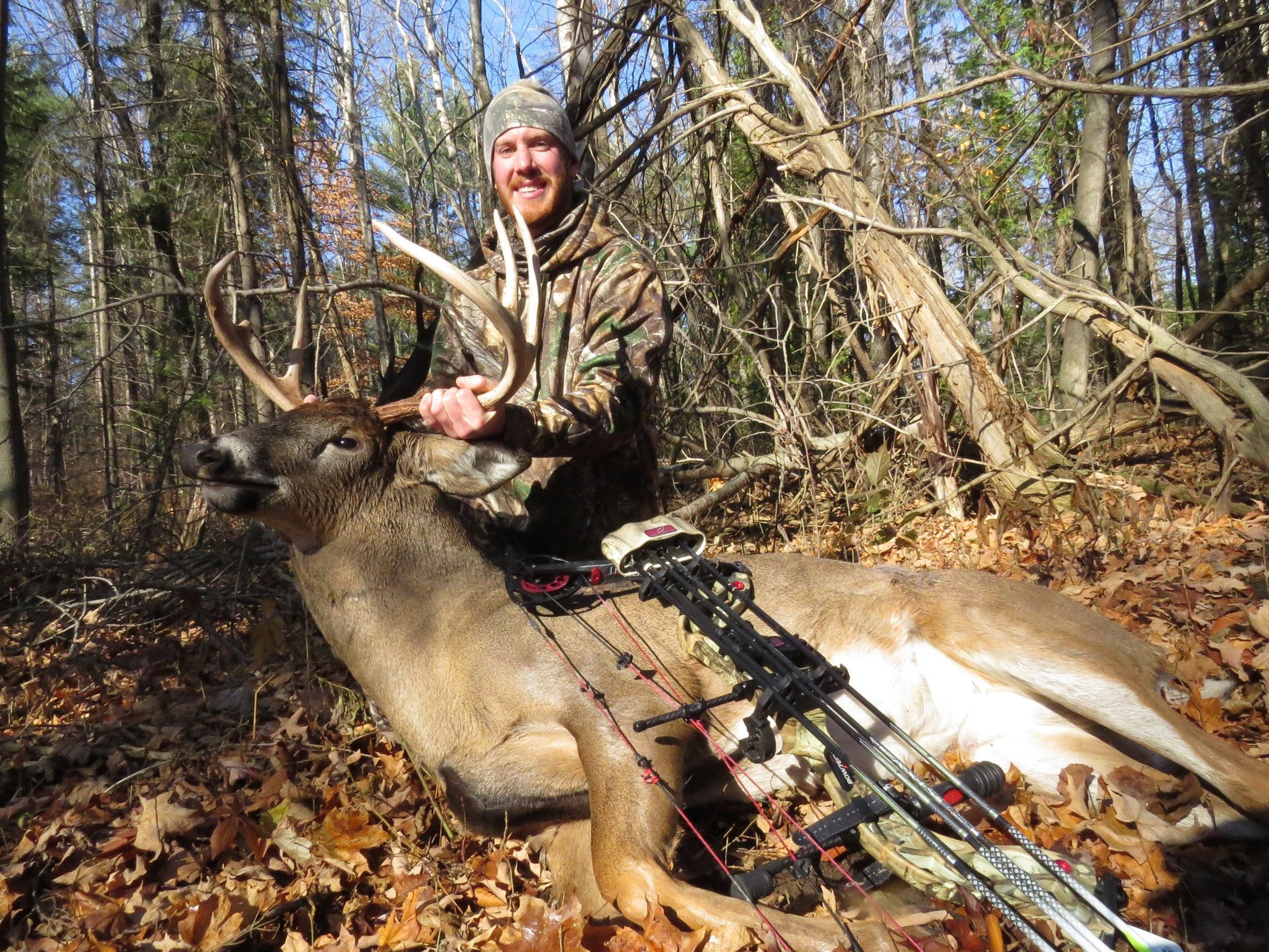 - Whitetail In Ontarioderrick Seed | Bowhunting  2021 Peak Whitetail Deer In North Central Wisconsin
